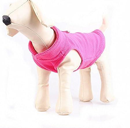 Veste pour chien en polaire avec capuchon - Harnais - Différentes couleurs et tailles disponibles Cara Mia Dogwear