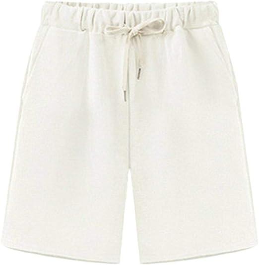 HX fashion Pantalones Cortos Casuales Mujer para Deportivos ...