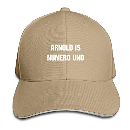 Arnold is Numero UNO Baseball Caps Adjustable Back Strap Flat Hat