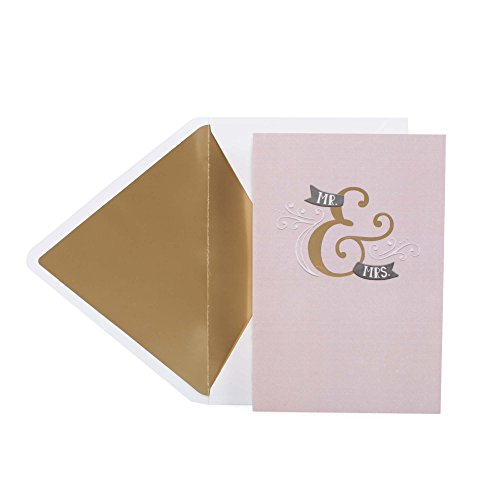 Hallmark Signature Wedding Card (Congratulations to You Both)