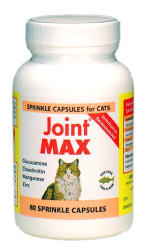 Joint MAX SPRINKLE CAPS for Cats (80 Caps), My Pet Supplies