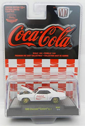 M2 Machines Limited Edition Coca-Cola Detroit Muscle Series - 1969 Chevrolet Camaro ZL-1 ()