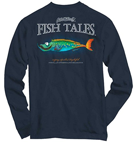 Gill McFinn Bass Fishing Lure Shirt | Outdoor Sporting Good Long Sleeve (Lure T-shirt)
