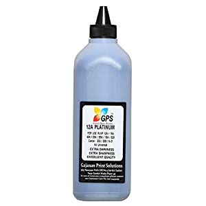 Gps Refill Toner Powder(Platinum) for hp Cartridge Model 12A / 15A / 49A / 53A / 05A / 80A / 55A / 42A / 51A / 96A / 16A / 82X / 43X All Universal (Pack 0f 1kg)