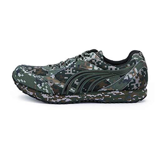 Shi18sport Duowei - Zapatillas de Camuflaje de Duowei, Color Negro, para Correr o Hacer Camuflaje, Digital Camouflage, 36: Amazon.es: Deportes y aire libre
