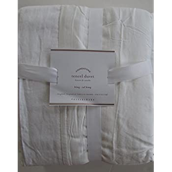 Amazon Com Pottery Barn Tencel Duvet Cover Full Queen