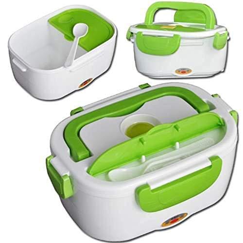 Lonchera Eléctrica Portátil Contenedor Alimentos Lunch Box Compartimiento Tupper Toper Calienta Comida Compartimientos...