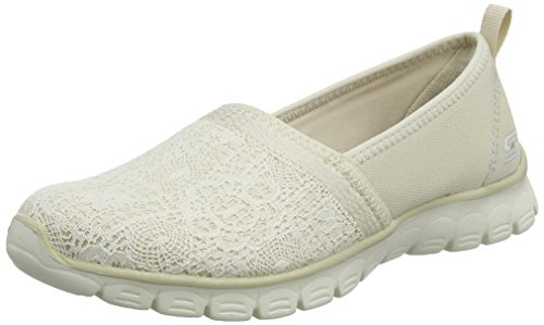 On Slip Women's 3 Beige Quick Ez Natural 0 Skechers Flex Escapade Sneakers AFg8x8n