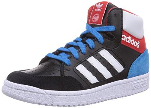 Adidas  Pro Play - Zapatillas de deporte infantil - Multicolor (Cblack/Ftwwht/Red)