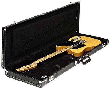 【 並行輸入品 】 Fender (フェンダー) 099-6121-306 Mustang/Jag-Stang/Cyclone Multi-Fit Case, スタンダード Black with Black Acrylic Interior   B00JEFB1SM