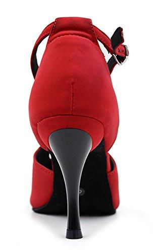 TDA - Zapatos con tacón mujer 7.5cm Red