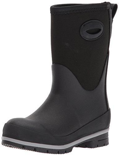 Western Chief Kids Cold Rated Neoprene Boot with Memory Foam Snow, Black, 5 M US Big Kid