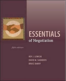 Negotiation Readings Exercises And Cases Pdf