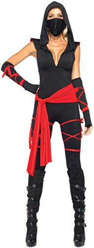 Leg Avenue Deadly Ninja Costume (Deadly Ninja Adult Costume - Large)