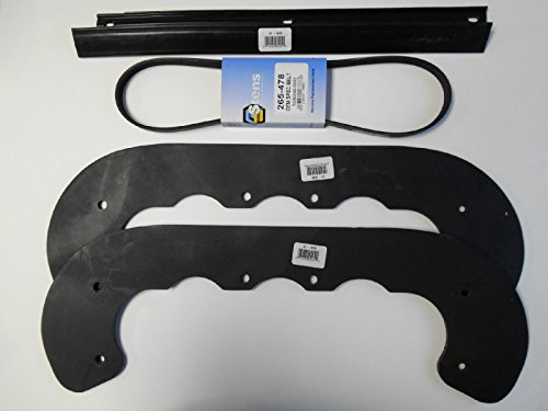 Toro Powerlite, CCR2000 and CCR2001 Snowblowers Snow Thrower Paddle, Scraper Bar and Belt Kit, 99-9313, 55-8760, 55-9300