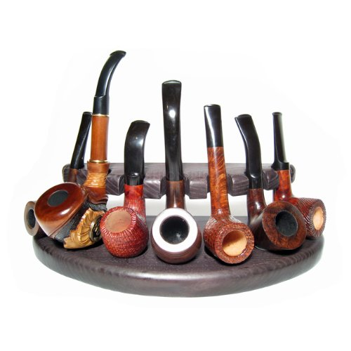 7 New Wooden Pipes Stand-showcase, Rack Holder for 7 Tobacco Smoking Pipes . Handmade…..limited Edition…..