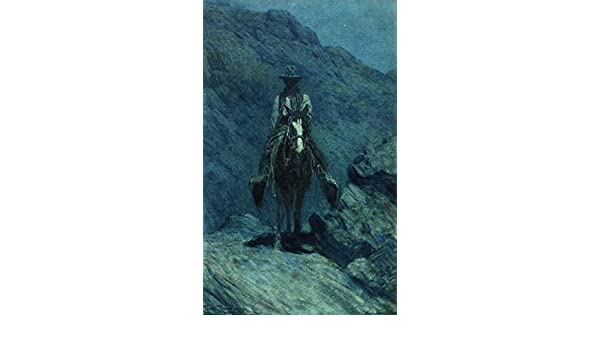 Nocturn  by Frank Tenney Johnson   Giclee Canvas Print Repro