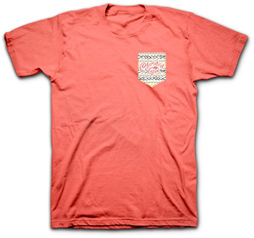 Kerusso Mustard Seed, Tee, LG, Coral Silk - Christian Fashion Gifts