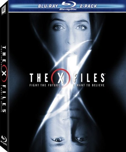 The X-Files Movie 2-Pack (Fight the Future / I Want to Believe) [Blu-ray]