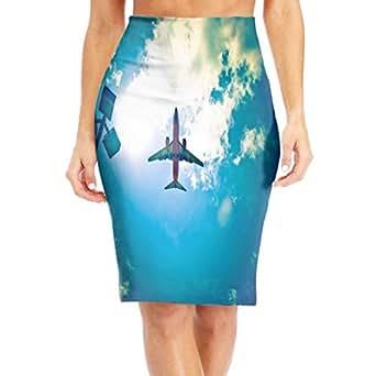 Amazon.com: Women's Bodycon Knee Length Midi Pencil Skirt ...  Amazon.com: Wom...