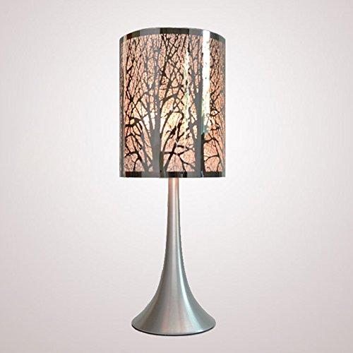 Traveppy Hollow Carve Model Table Lamp Bedroom Desk Lamp Tree (Octagonal Lamp Table)