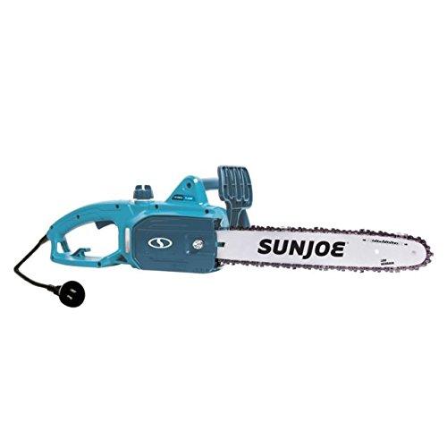 Sun Joe SWJ699E-BLU 14″ 9-Amp Electric Chain Saw, Blue
