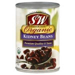 Amazon Com S Amp W 174 Kidney Beans Organic 15 Ounce Pack Of