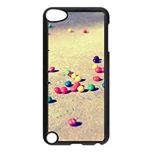 For SamSung Galaxy S5 Phone Case Cover Colorful Candies On The Ground Hard Shell Back Black For SamSung Galaxy S5 Phone Case Cover 309884