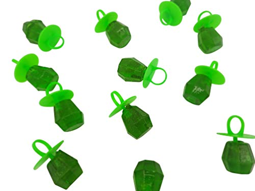 Jewel Pop Ring Shaped Hard Candy | Green