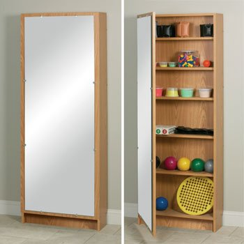 CLINTON WHIRLPOOL ACCESSORIES Cabinet w/ mirror--natural Item# 2444N