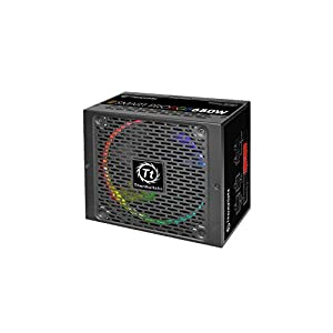 Thermaltake Smart Pro RGB 650W 80+ Bronze Smart Zero 256-Color RGB Fan Fully Modular ATX 12V 2.4/EPS 12V 2.92 Power…