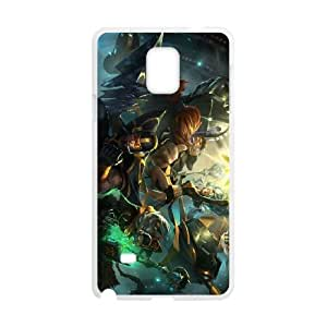 Samsung Galaxy Note 4 Phone Case Cover White League of Legends Fnatic Jarvan IV EUA15990116 Protective DIY Phone Case