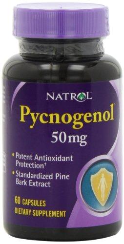 Natrol Pycnogenol 50 мг капсулы, 60-Count