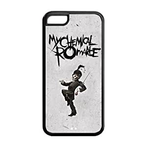 FEEL.Q- Unique Custom TPU Rubber iPhone 5C Case Cover - My Chemical Romance hjbrhga1544