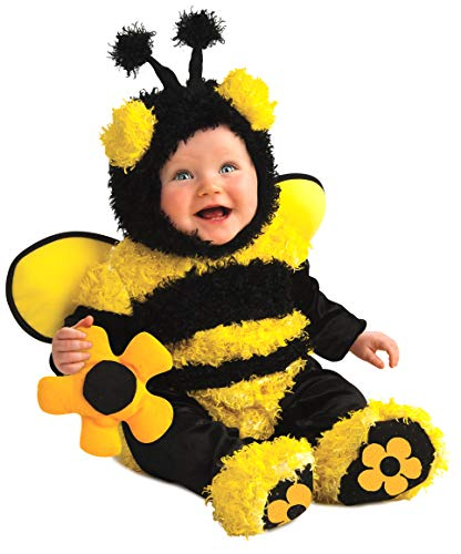 Rubie's Costume Noah's Ark Buzzy Bee Romper Costume, Yellow, ()