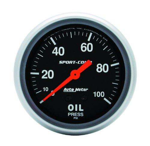 Auto Meter 3421 Mechanical Oil Pressure Gauge