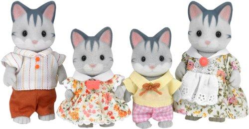 Sylvanian Families 3551 - Katzen - Familie Schleicher, grau