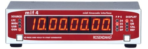 Rosendahl MIF 4 Professional MIDI Timecode Interface by Rosendahl