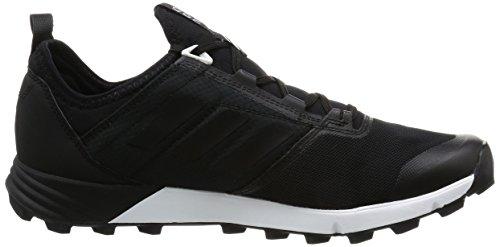 adidas Terrex Agravic Speed, Bottes de Randonnée Homme, Noir (Nero Negbas/Negbas/Ftwbla), 46 EU