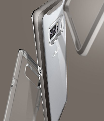 Spigen Neo Hybrid Crystal Galaxy Note 8 Case with Clear Hard Casing and Reinforced Hard Bumper Frame for Galaxy Note 8 (2017)
