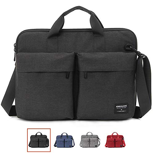 KL 17.3 inch Laptop case Laptop Hand Bag for MacBook Pro/Dell Inspiron/MSI/HP Pavilion/Lenovo/Acer/Samsung Sony ASUS 17-17.3 inch Laptop by KINGLONG (BK) (Dell Inspiron 15 7000 I7 5500u Review)