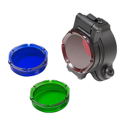 SureFire FM70 Assembly Filter for 1.125'' Or 1'' Bezels & Out Lenses Included, Red/Green/Blue by SureFire