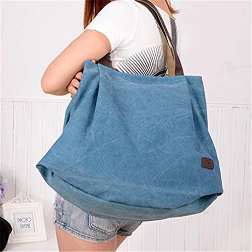 Bolso Bandolera Azul Tote Handbag De Hombro Mujer Bag Bolsos Callejero EPqqvt