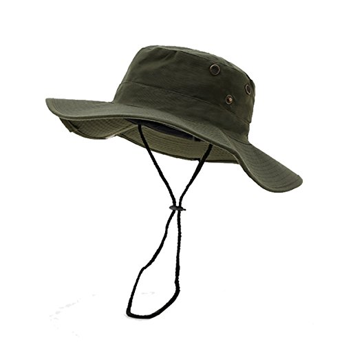 Fonshow Jungle Camo Boonie Sun Hat Snap Wide