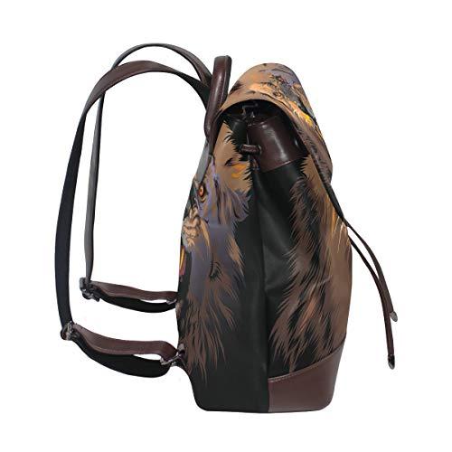 unique porté dos femme à DragonSwordlinsu Taille Sac multicolore au main pour vq7Hwq