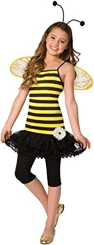 Time AD Inc. 196920 Sweet As Honey Child Costume - Black-Yellow - Small - 4-6 ()