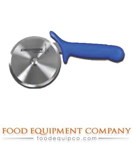 Dexter-Russell P177AH Pizza Cutter with High-Heat Blue Handle, Perfect Cutlery Packaging, 4-Inch Wheel (Blue Pizza Cutter)