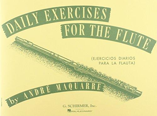 Daily Exercises for the Flute / Ejercicios diarios para la flauta (Spanish Edition)