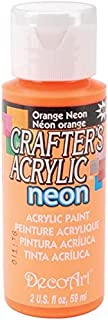 product image for Crafter's Acrylic All Purpose Paint 2 Ounces-Orange Neon