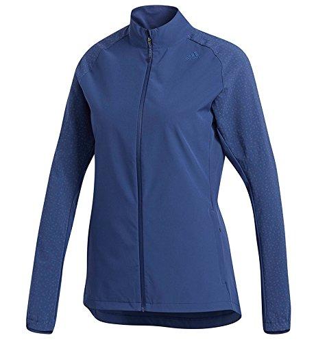 Adidas SS18 Womens Supernova Storm Jacket - Blue - Small
